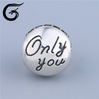 E Famous silver jewelry designers custom beads 925 silver