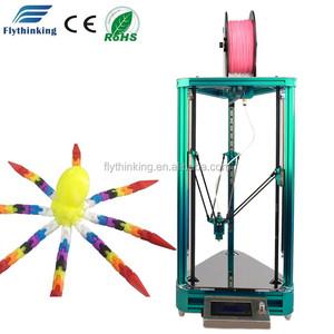 FDM diy Kossel Mini Delta 3d printer kit for ABS PLA filament printing