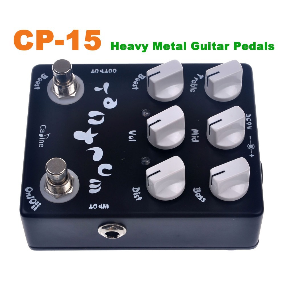 buy cp 15 heavy metal guitar pedals caline effect pedal guitar pedal high. Black Bedroom Furniture Sets. Home Design Ideas