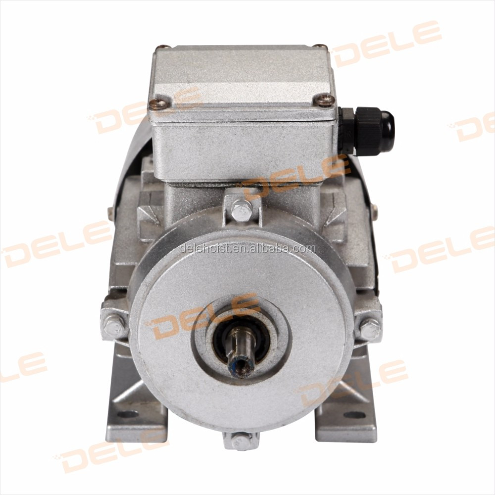 3 Phase Ac Electric Motor Ms6334 250w B3 For Industry