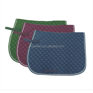 Wholesale Custom High Quality Quilted Saddle Pad Horse