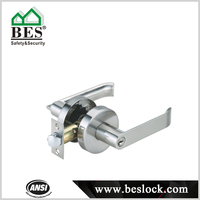 Modern Zinc Alloy Lever Locks Heavy Duty Handle Door Lock