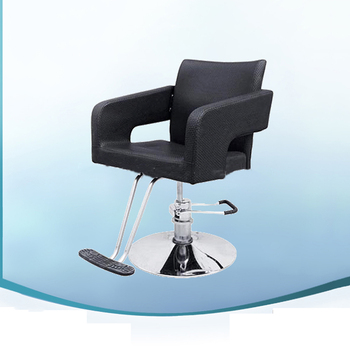 Beauty Salon Acrylic Salon Furniture Hydraulic Adjustment Styling Chair For Haircut