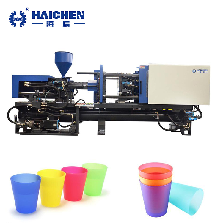 PP PS Plastic cup making injection molding machine price ningbo manufacturer