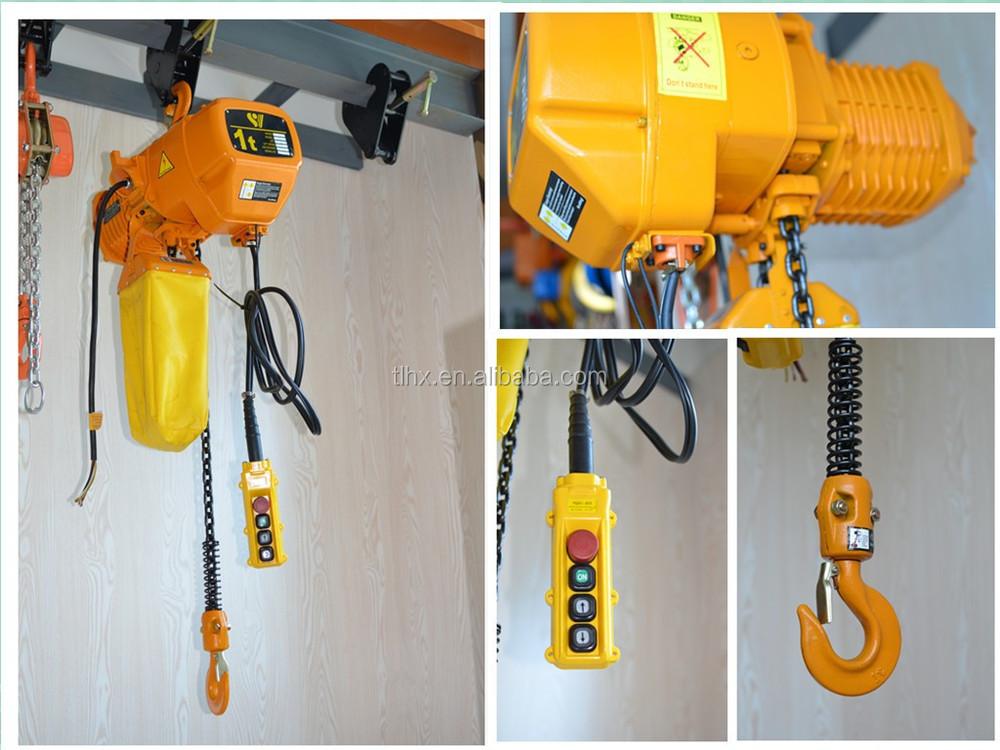 Electric руководство по hoist 0,5 электрическая тонны таль эксплуатации