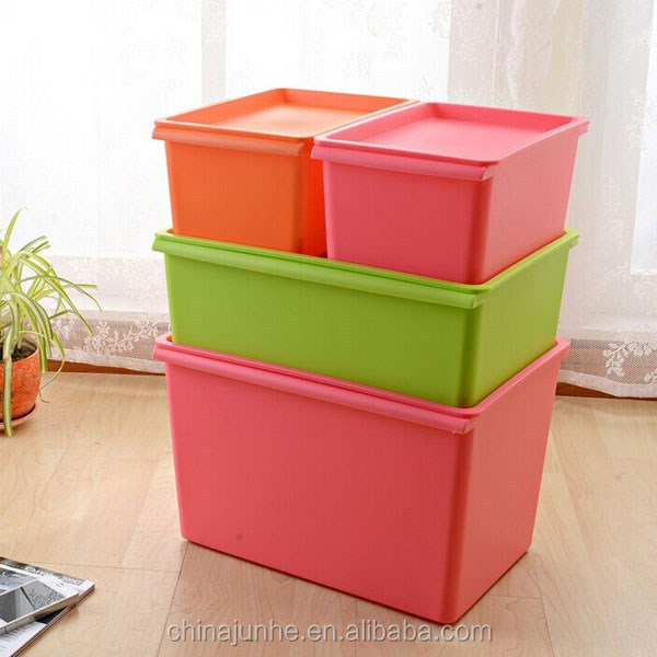 Large Size Colourful Plastic Storage BoxNice Plastic Container