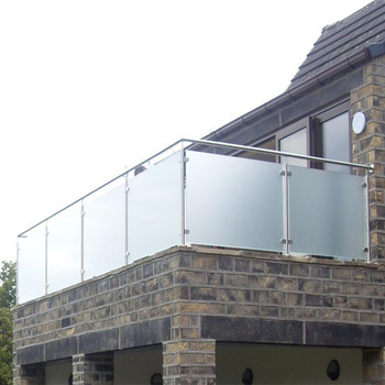 Balcony Stainless Steel Railing Post