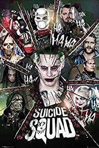 """Suicide Squad - Movie Poster / Print (The Squad / Circle) (Size: 24"""" x 36"""") (By POSTER STOP ONLINE)"""
