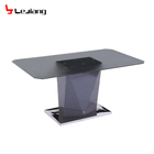 Free Sample Lift Space Saving Chairs Furniture Pakistan Long High Gloss Dining Table For Restaurant