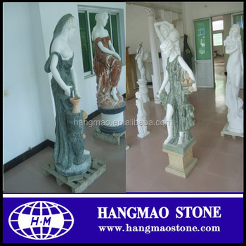 Western Style Female Woman Figure Resin Garden Statues