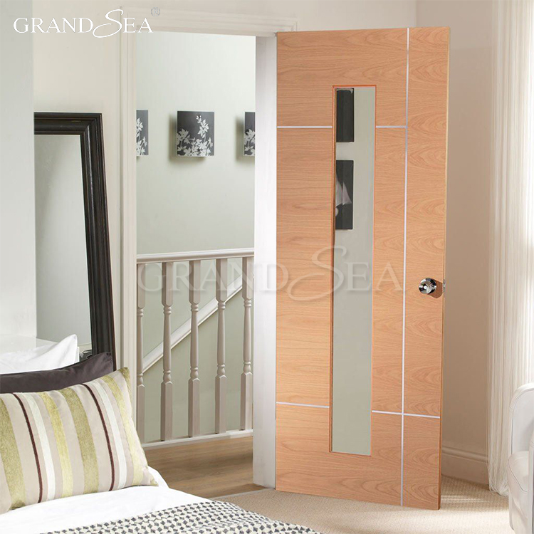 What is green ply panel swing single hinged flush door price for architecture building