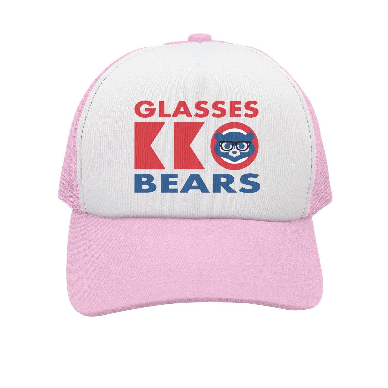 3c182e0e9 Get Quotations · SHCBTYS Funny Glasses Bears Cub Boys  Snapback Hat Cool  Snapback 2018