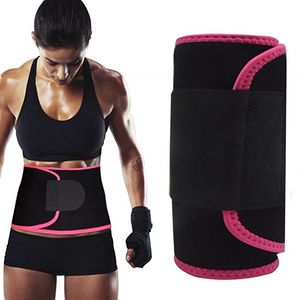 Custom Sweet Belt Waist Trimmer Abdominal Trainer Adjustable Sweat AB Belt For Fat Burner Weight Loss