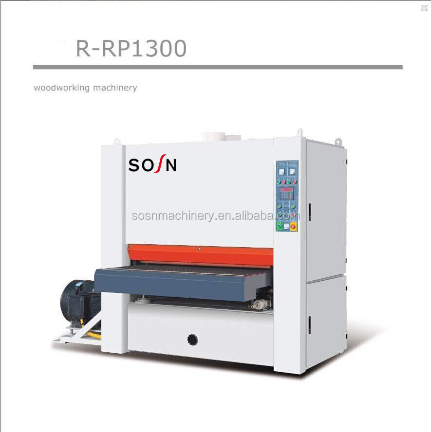 Wide Belt Sander / Sanding Machine Woodworking Machine