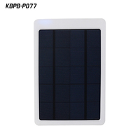 Wholesale polymer solar battery charger 10000mah portable charger