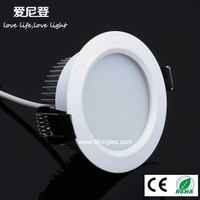 high quality indoor 2 inch 3W recessed led down lights