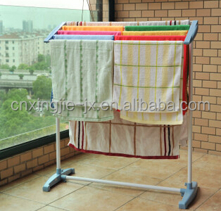 New Simple Garment Movable Metal Dispaly Racks Shelf for Clothing Home used