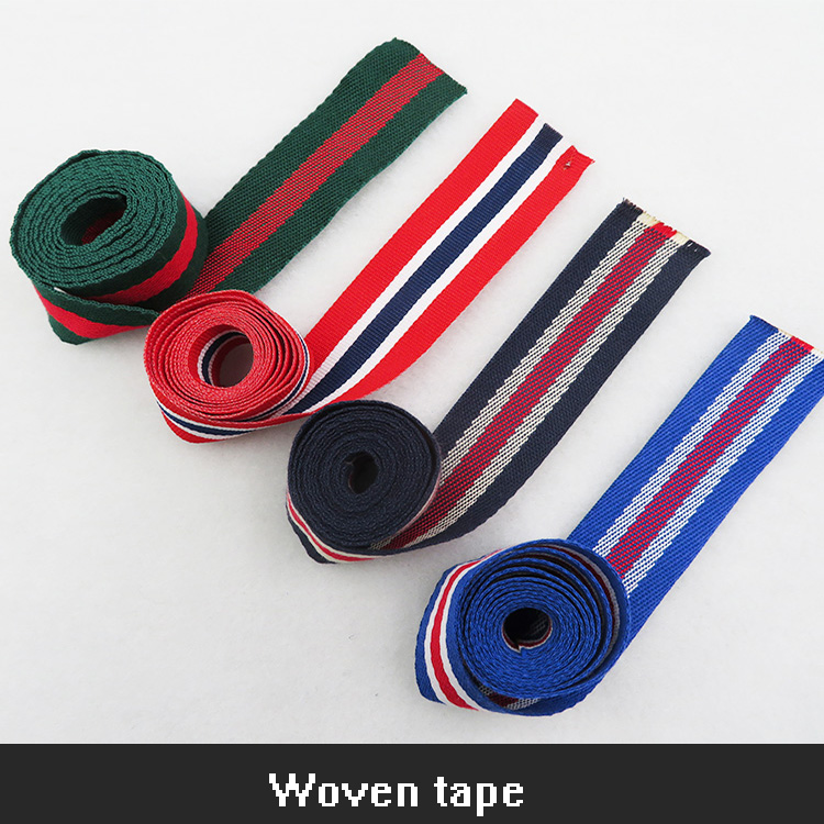 center folded fashion Direct factory woven flag embroidered printing tags main label for clothing