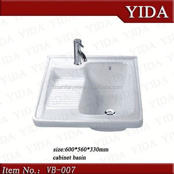 Chaozhou Ceramic Washing Sink Clothes Wash Basin Washtub Laundry