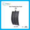Hot Sale 75W Flexible Solar Panel for 12V Battery Monocrystalline Silicon Semi Flexible Solar