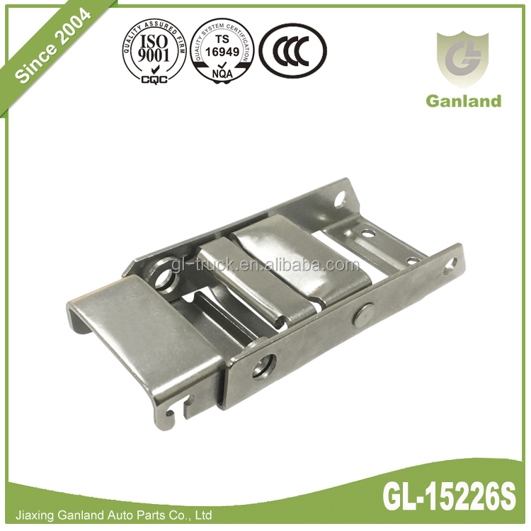 GL-15226S Stainless Steel Spring Locking Buckle For Tautilner Side Curtain