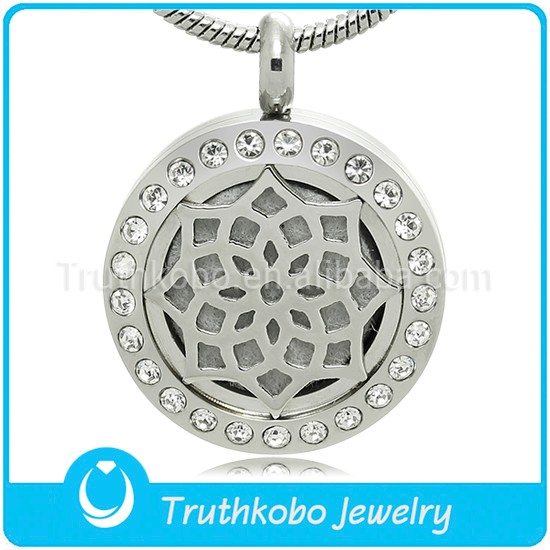 China Essential Oil Diffuser Pendant Necklace Gold Wholesale ...