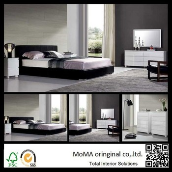 Wholesale Price Modern Bedroom Sets,White Mdf Dresser With Mirror ...