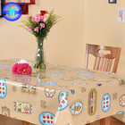 Soft pvc printed table cloth nappes pvc fiesta baratos manteles