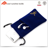 2017 new design microfiber soft cell phone pouch