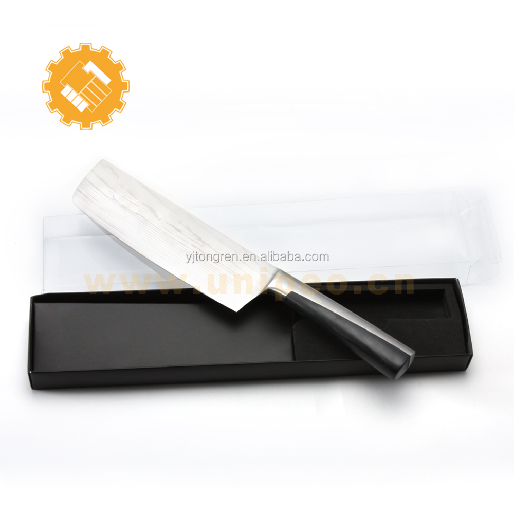 "Amazon best seller German Steel Cutlery Vegetable Cleaver Knife 7"" Chinese Chef's Knife with Case"