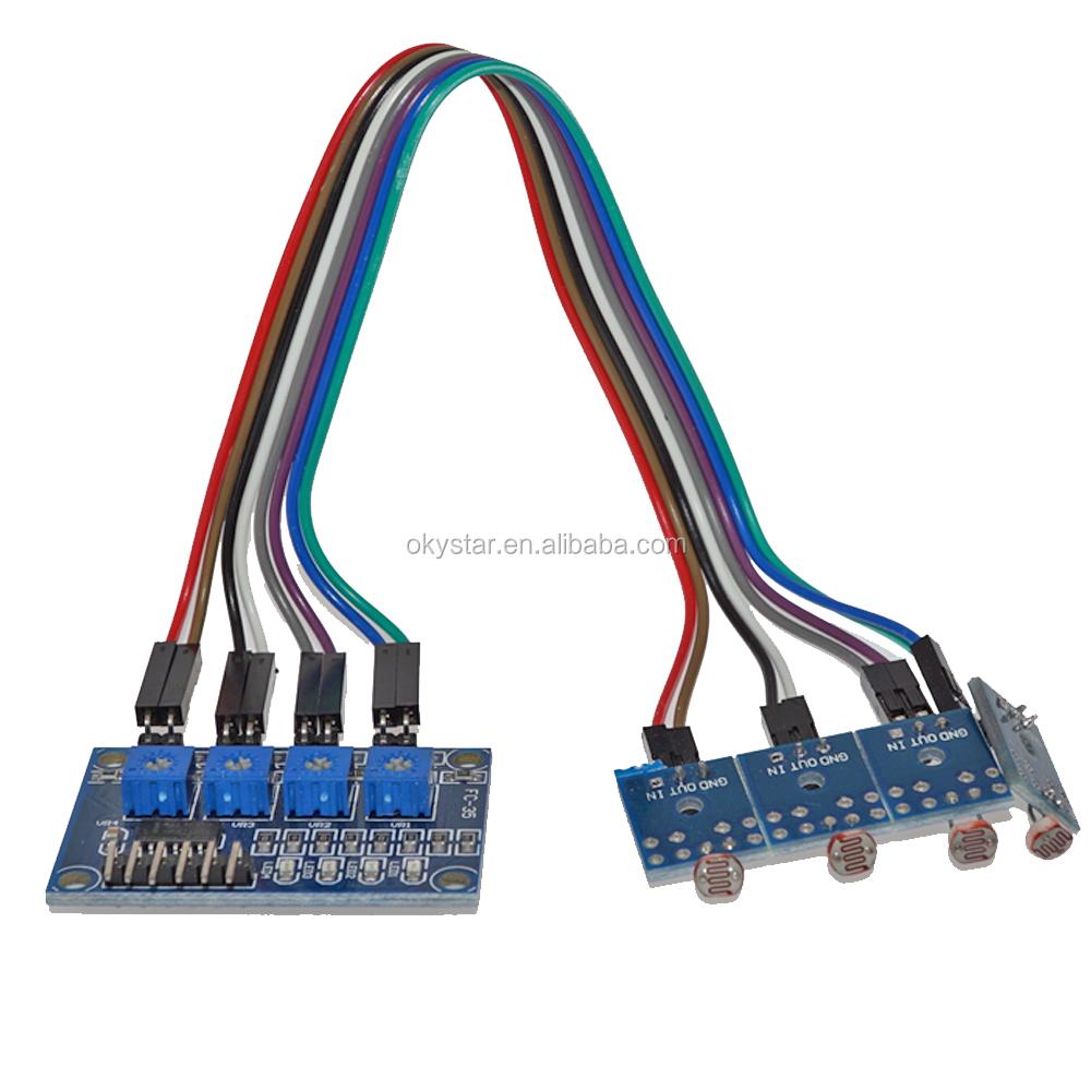 4 Channel Ldr Sensor Photosensitive Resistance Photoresistor For Beginners In Electronics Module