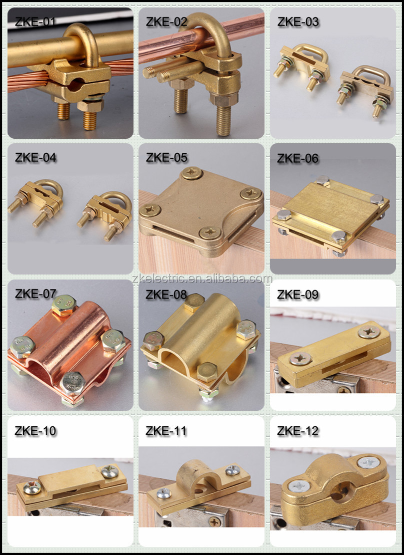 High Quality Cable Clamp Cheap Earth Rod Coupler Ground