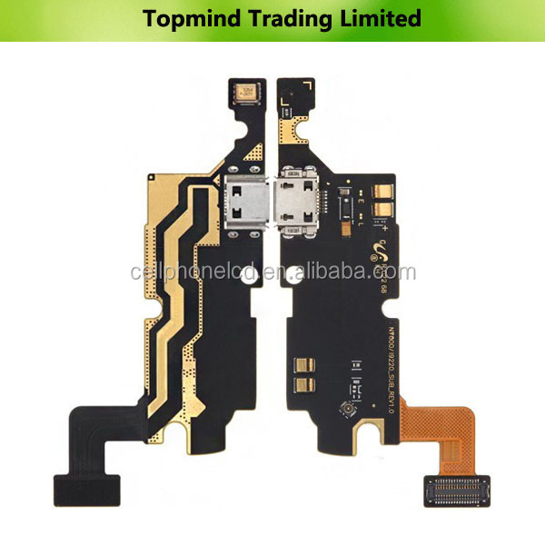 Topmind wholesale USB Charger Flex Cable for Samsung Galaxy Note N7000 i9220