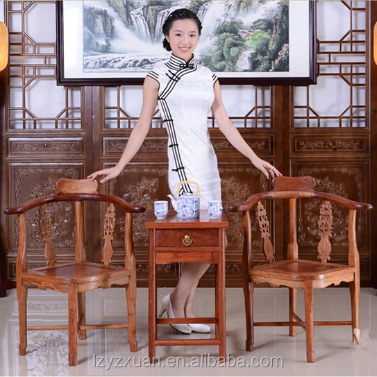 Famous desgin manufacturer best price antique and royal wood carved arm chair