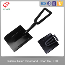 square head types of steel head snow shovel