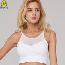 Exquisite mesh crop tops frauen sport <span class=keywords><strong>yoga</strong></span> bh großhandel fitness <span class=keywords><strong>kleidung</strong></span>