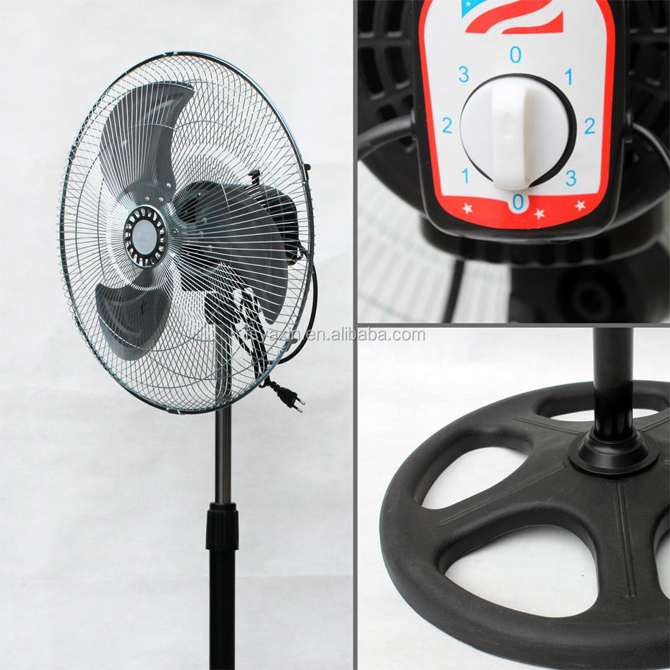 refrigerador de aire s per corona ventiladores de 18 pulgadas ventilador de pie el ctrica hace. Black Bedroom Furniture Sets. Home Design Ideas