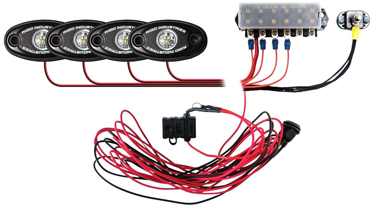 Rigid Industries 40079 Green Boat Deck Light Kit