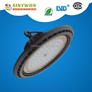 Hot sellings with IES 200w ufo led high bay light ip65