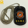 China factory price 60cm ballchain metal dog tag