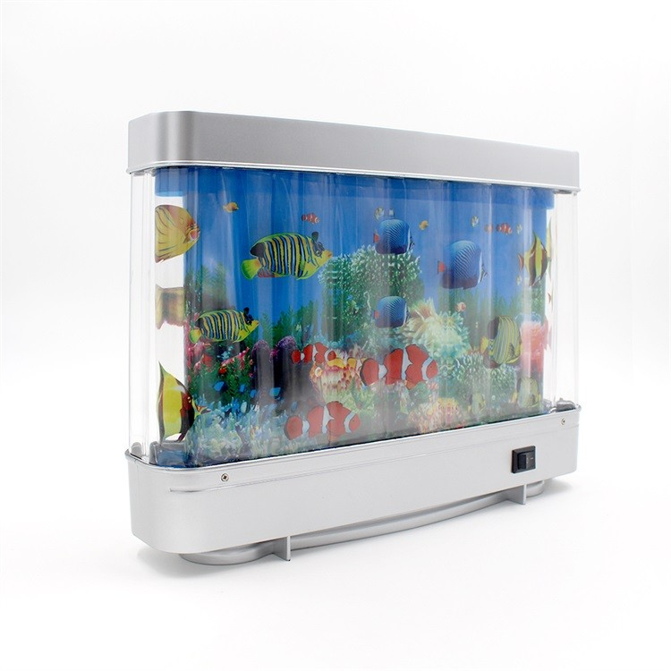 Abs 12v artificial tropical fish aquarium decorative lamp for Oceanic fish tanks