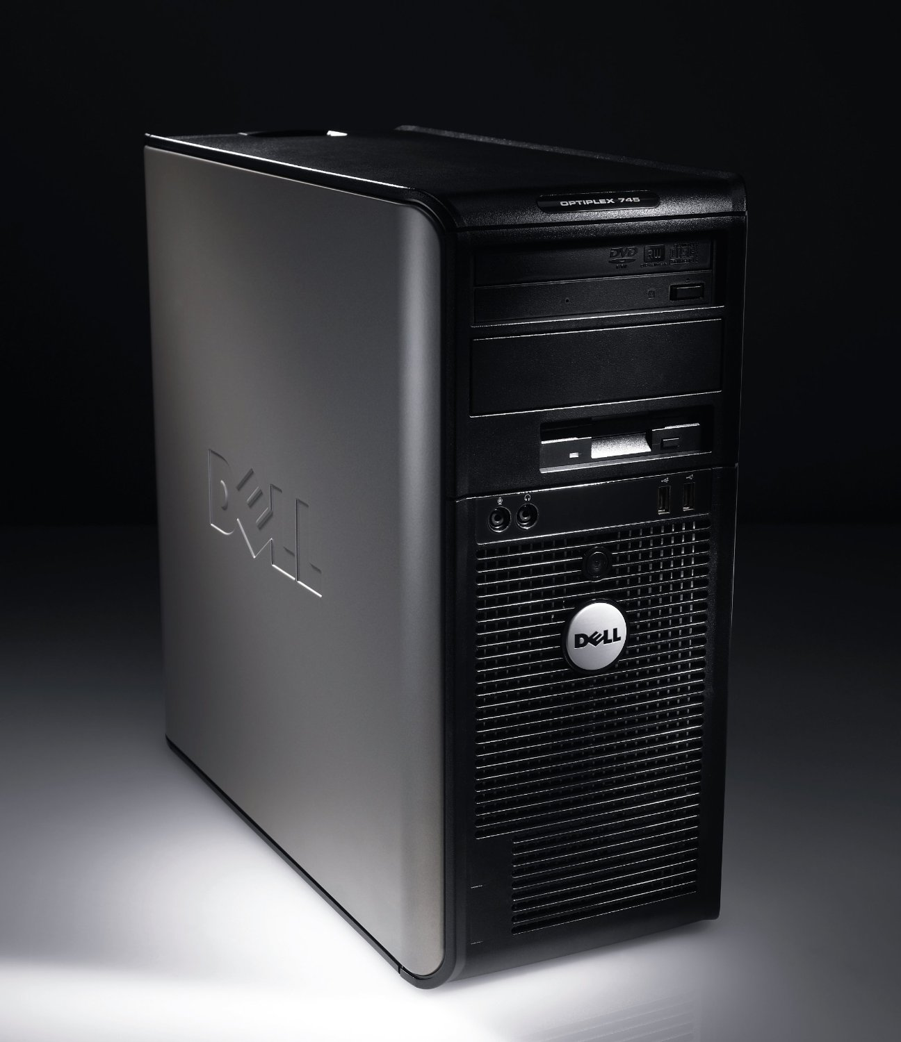 Fast Dell Optiplex Gx620 Tower Desktop Computer Pentium 4HT 3.2Ghz, 2GB/750GB/DVD-Rom Keyboard/Mouse/Recovery CD included
