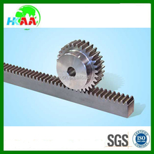 OEM design customized CNC steel rack and pinion gear