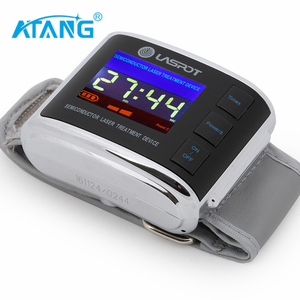 ATANG laser medical physiotherapy equipment red laser and blue light laser watch for Hypertension/diabetes