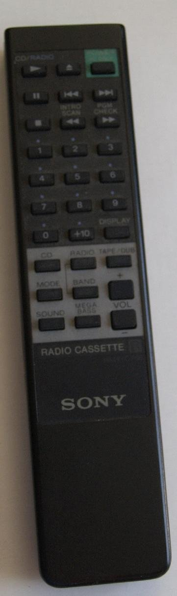 SONY Remotes for DVD-VCR-TV-Audio-Stereo and or Compact Disc Systems (SONY RMT-C768)