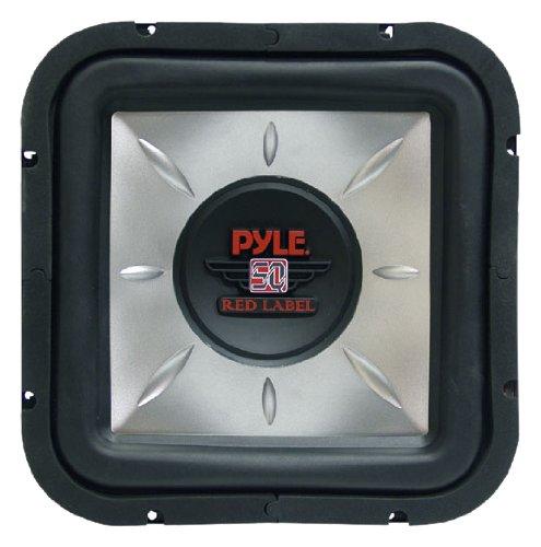 Pyle PLSQ12D 12-Inch 1,400-Watt Square DVC Subwoofer