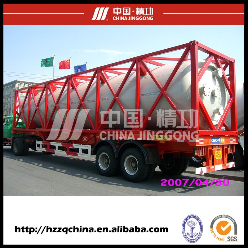 Custom 20ft bitumen cryogenic iso tank container