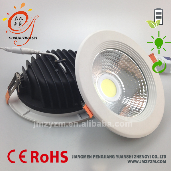 High Quality Round Shape 4/5/6 Inch Dimmable 15w Led Downlight ...