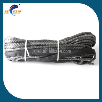 Uhmwpe fiber synthetic towing rope