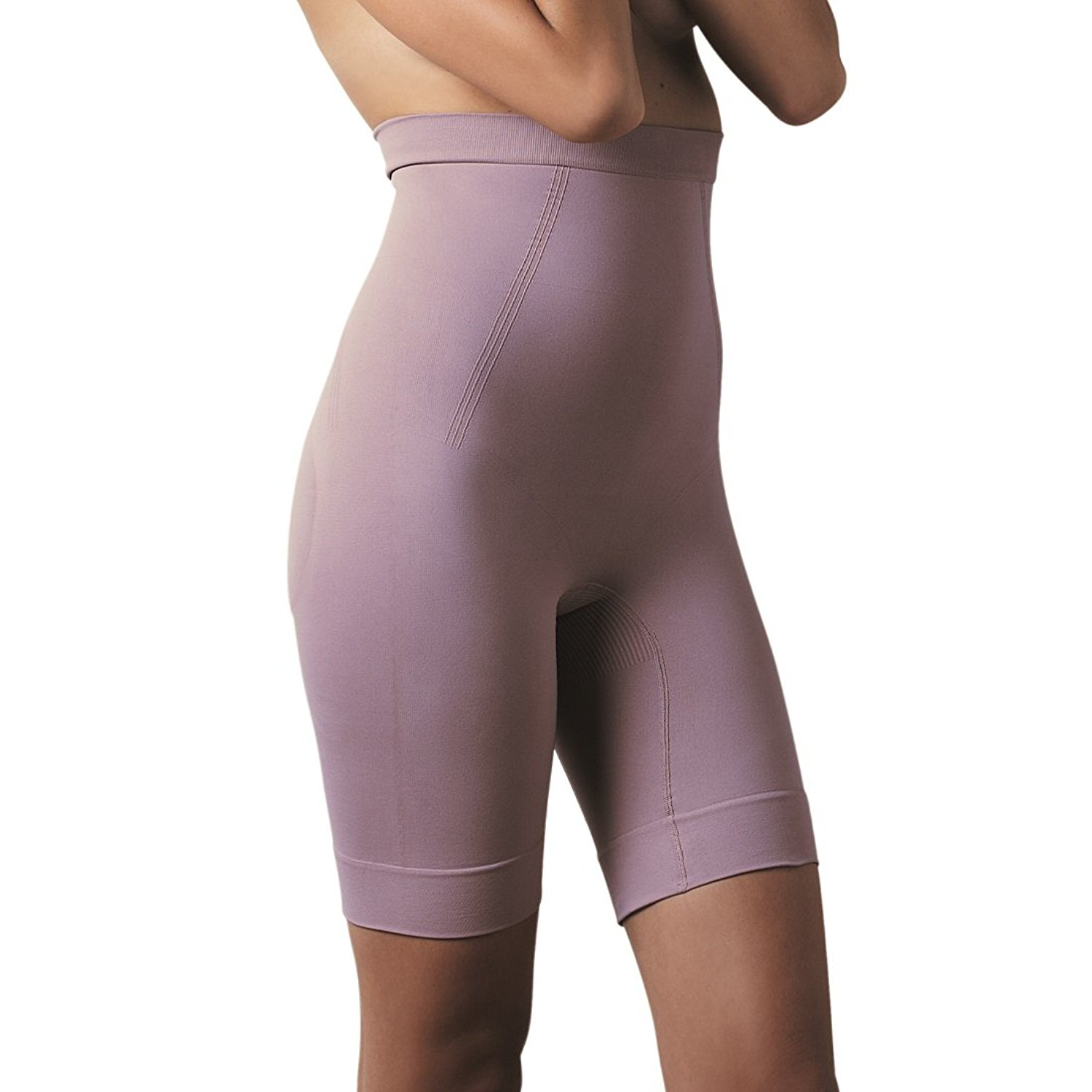 d56a44ac3b Get Quotations · Scala Women s Shapewear Anti-Cellulite High Waist Bermuda  BioPromise